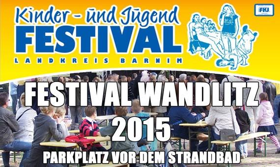 Kinder-und Jugendfestival Wandlitz am 18. und 19.04. 2015
