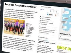 Tanzende Geschichtenerzähler – Unser Tanzfestival in der MOZ und im Fernsehen