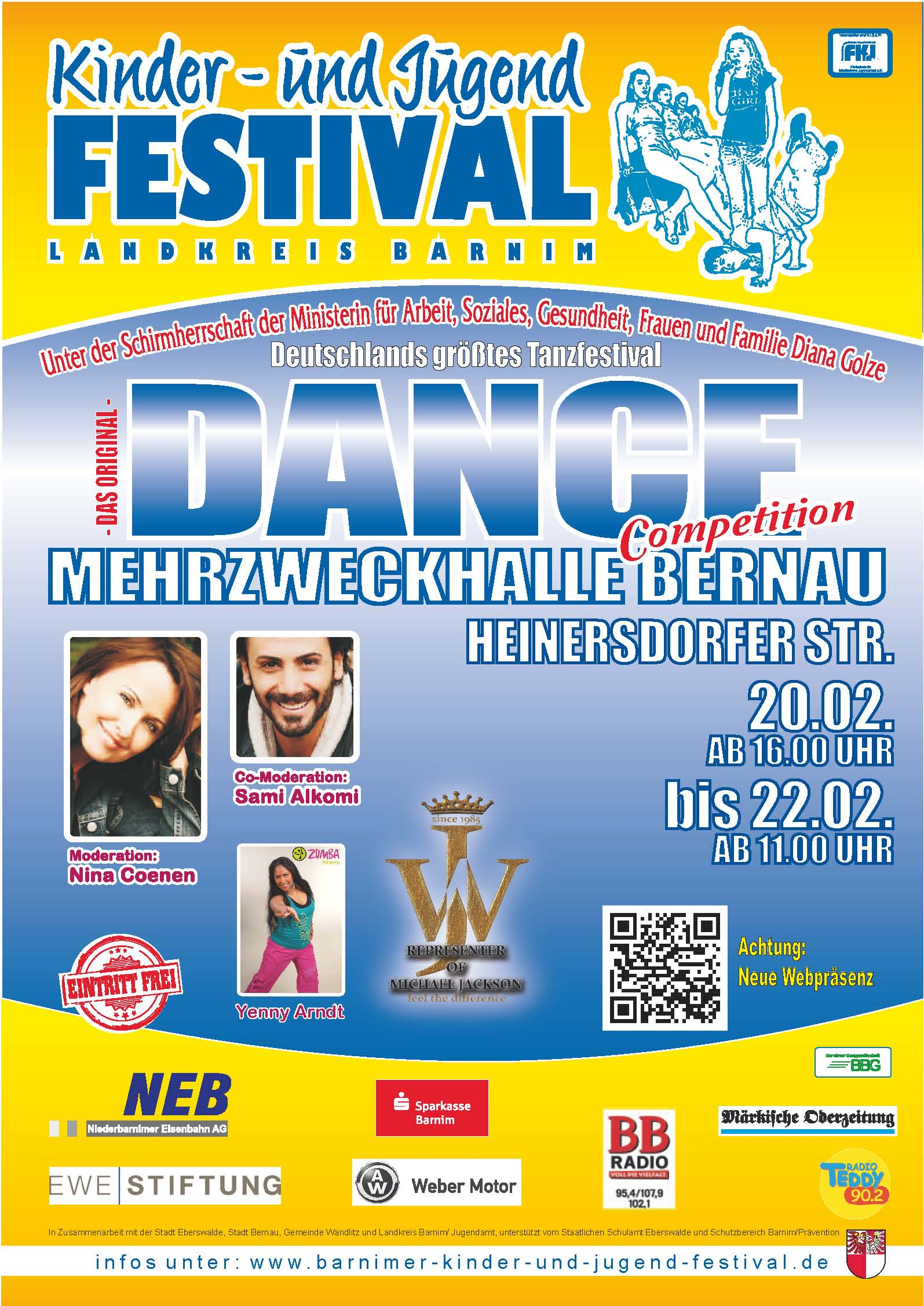 Tanzfestival Bernau 2015 A3 Poster