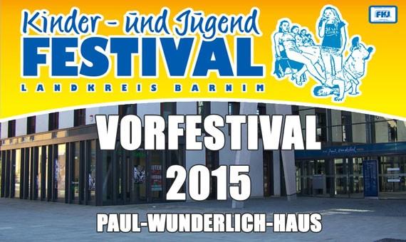 Vorfestival Eberswalde am 06.03.2015