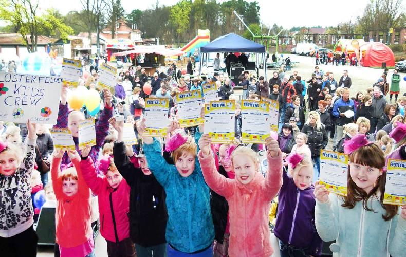 Barnimer Kinder- und Jugendfestival am 18. und 19. April Open Air in Wandlitz | Fotogalerie von 2014