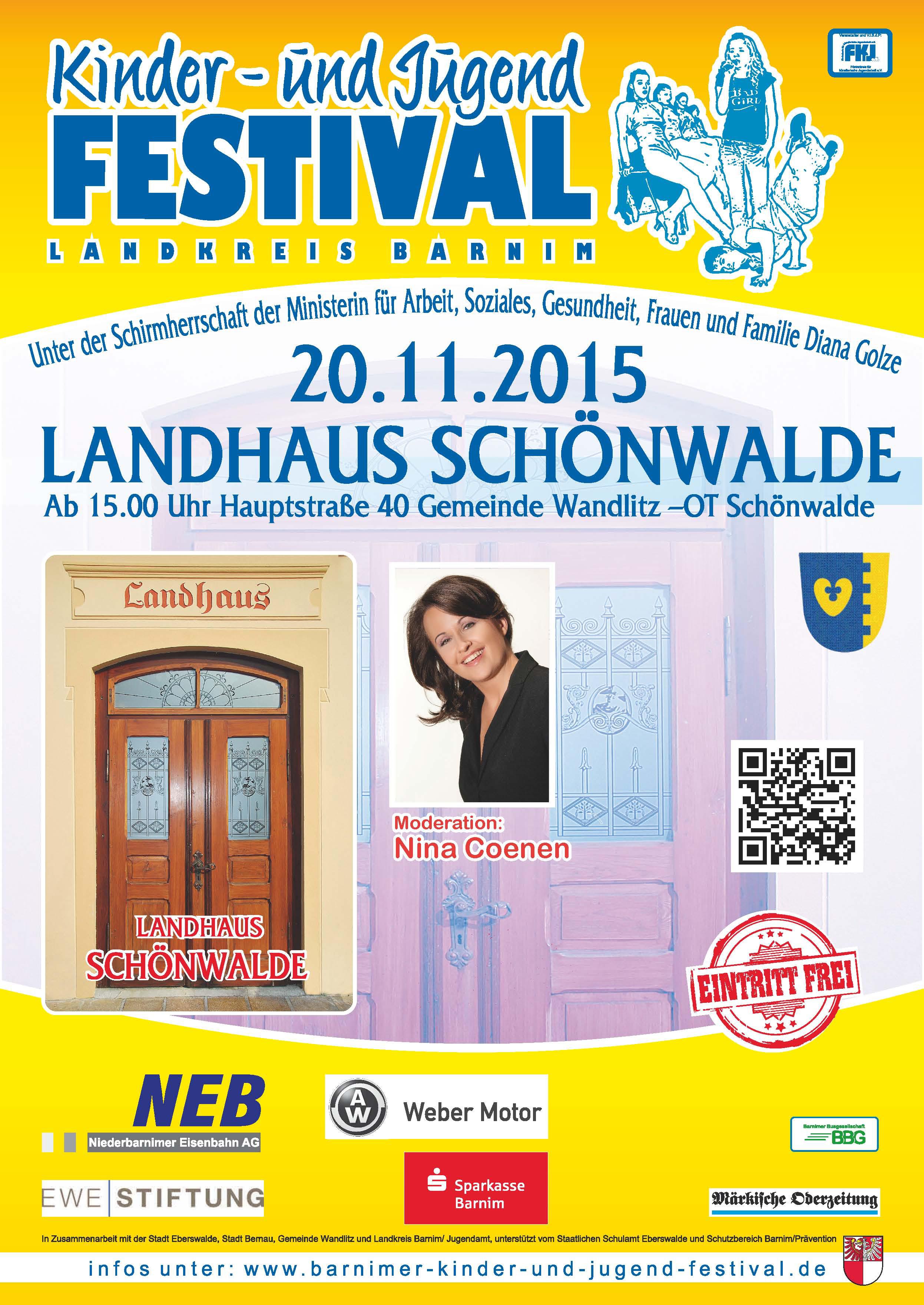 Plakat A2 -  Schönwalde 2015