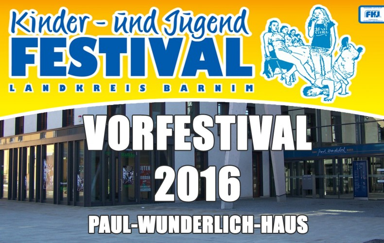 Vorfestival Eberswalde am 03.03.2016