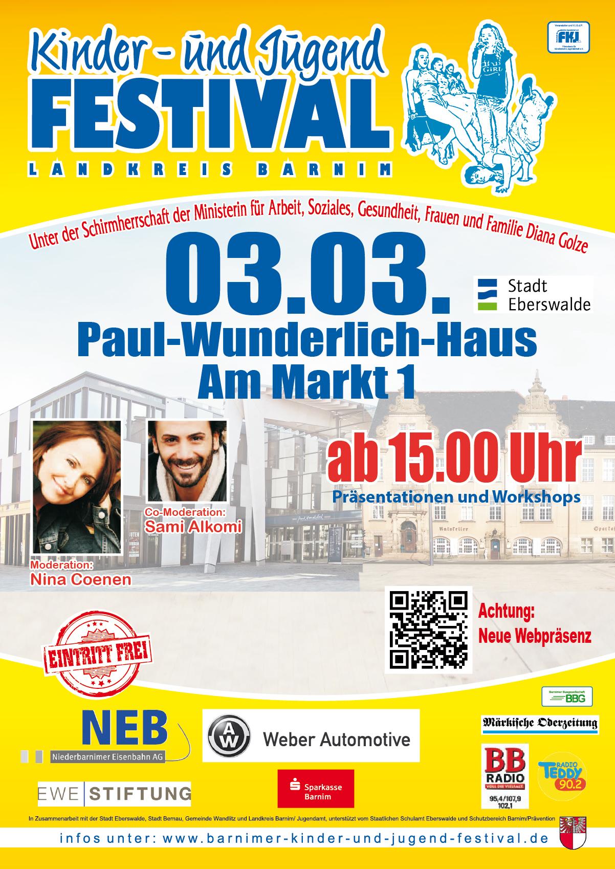 Plakat - Vorfestival - Eberswalde 2016