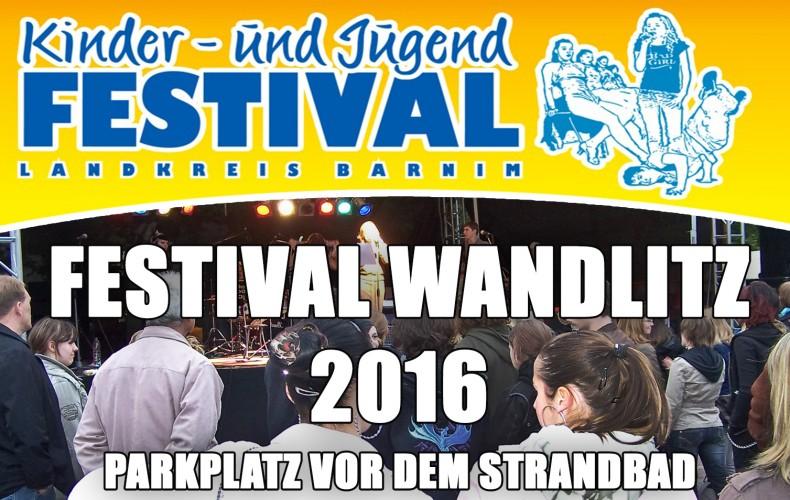 Kinder-und Jugendfestival Wandlitz am 23. und 24.04.2016