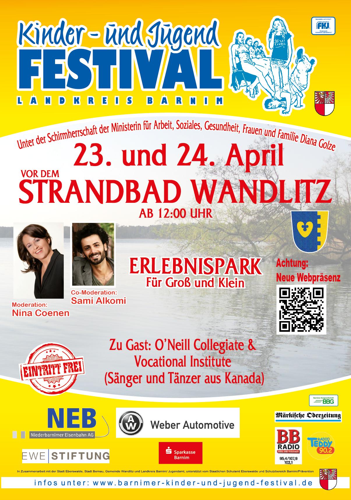 Plakat Wandlitz 2016