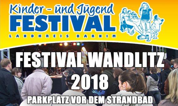 Kinder-und Jugendfestival Wandlitz am 14. und 15.04.2018