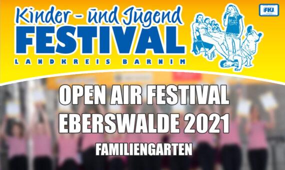 Festival Eberswalde am 11. bis 13.06.2021