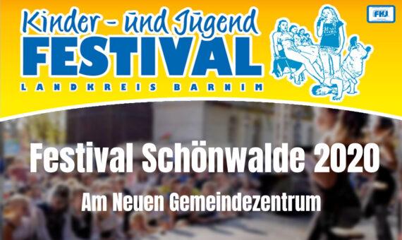 Festival in Schönwalde vom 25. bis 27.09.2020