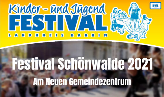 Festival in Schönwalde vom 24. bis 26.09.2021